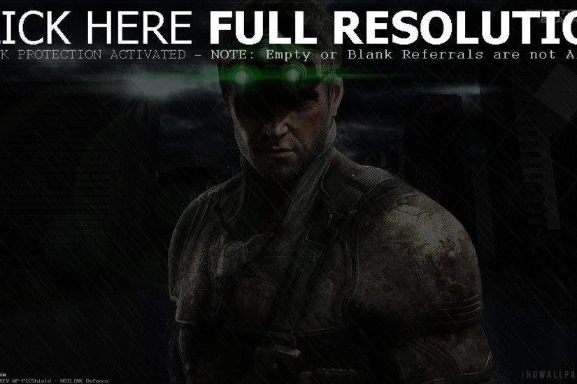The Blacklist Tom Clancy Splinter Cell (id: 182204)