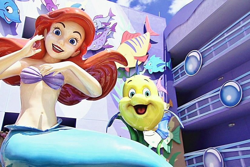 Image - Walt-Disney-World-Disney-s-Art-of-Animation-Resort-Princess-Ariel -Flounder-walt-disney-characters-37137838-1920-1080.jpg | Disney Wiki |  FANDOM ...