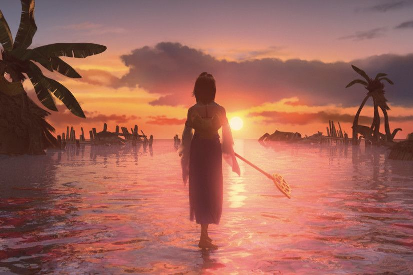 Final Fantasy X|X-2 HD Limited Edition Details » Yuna in the game's many  FMV.