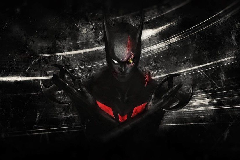 Comics - Batman Beyond Batman Wallpaper
