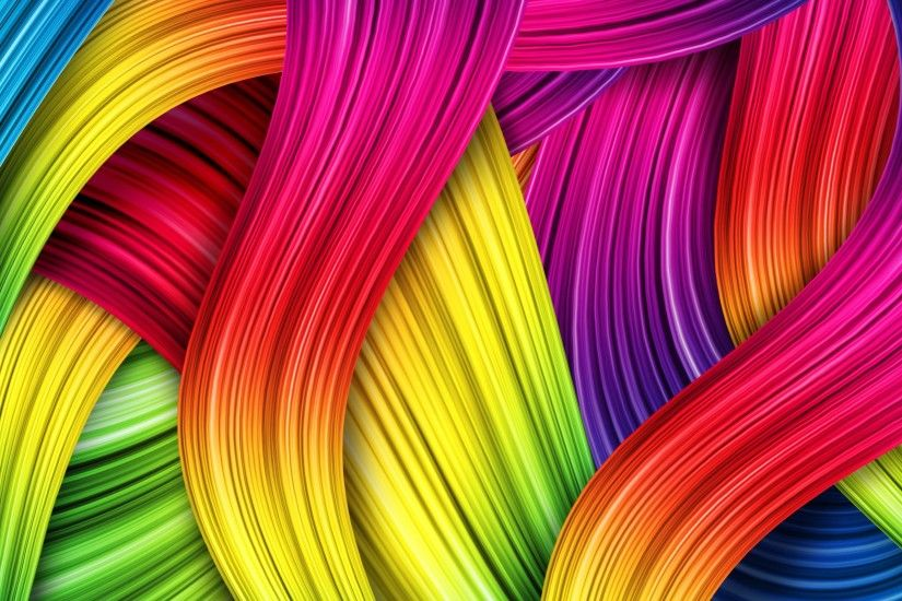 Colorful Lines Abstract Patterns HD Wallpapers