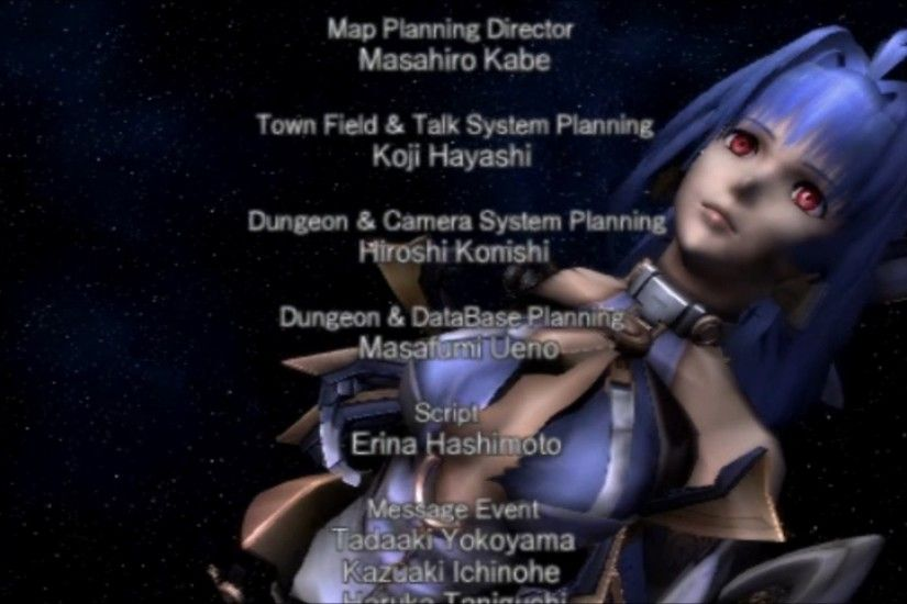 Wanda Plays Xenosaga Episode III - 79 (End) - [Goodnight, KOS-MOS]