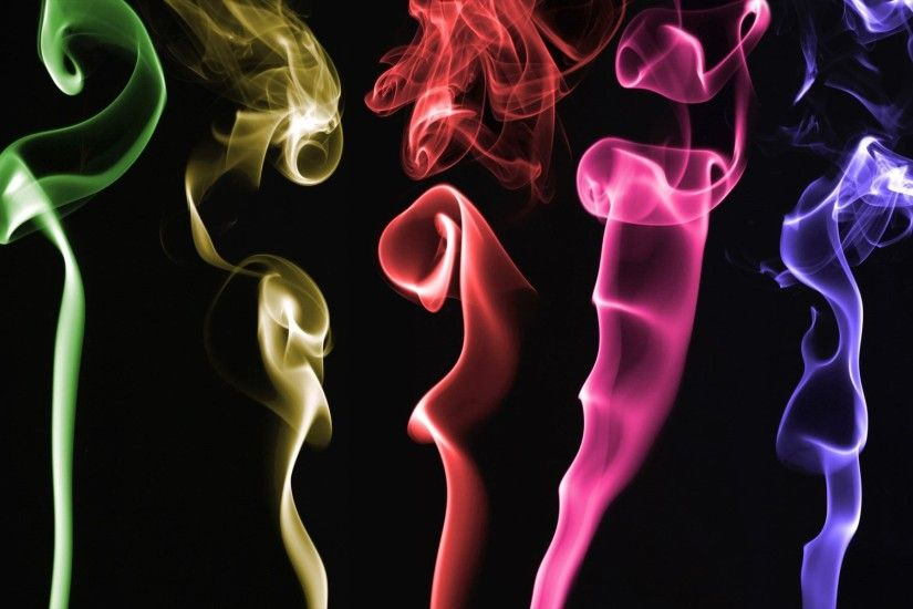 Wallpapers Backgrounds - Backgrounds Computers Windows Colored smoke  Wallpaper