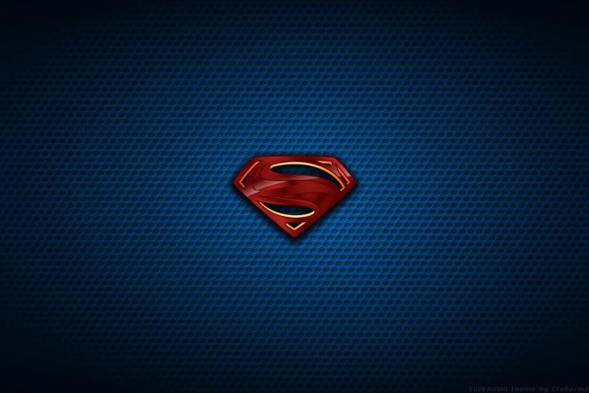 Logo superman wallpaper HD.