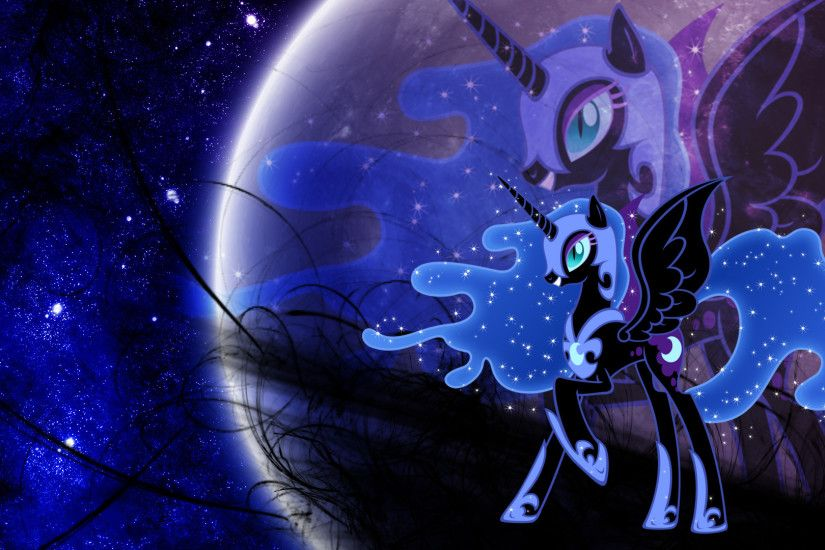 ... Nightmare Moon 3 (Wallpaper) by Hardii