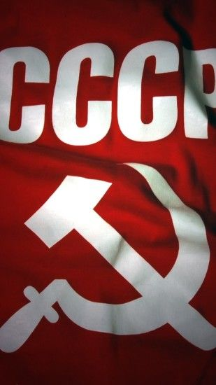 Preview wallpaper flag, ussr, russia, sickle 1080x1920