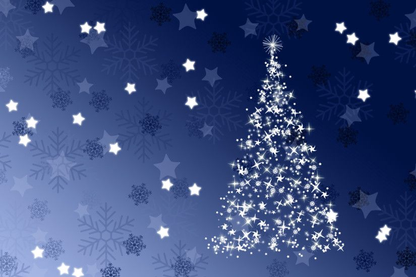 56225 56228 Night Sky · 2047 sparkling blue christmas tree 2880x1800  holiday wallpaper
