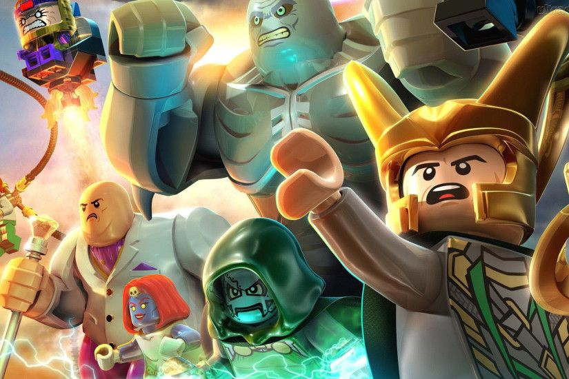 Supervillains , Lego Marvel Super Heroes 1920x1080 wallpaper