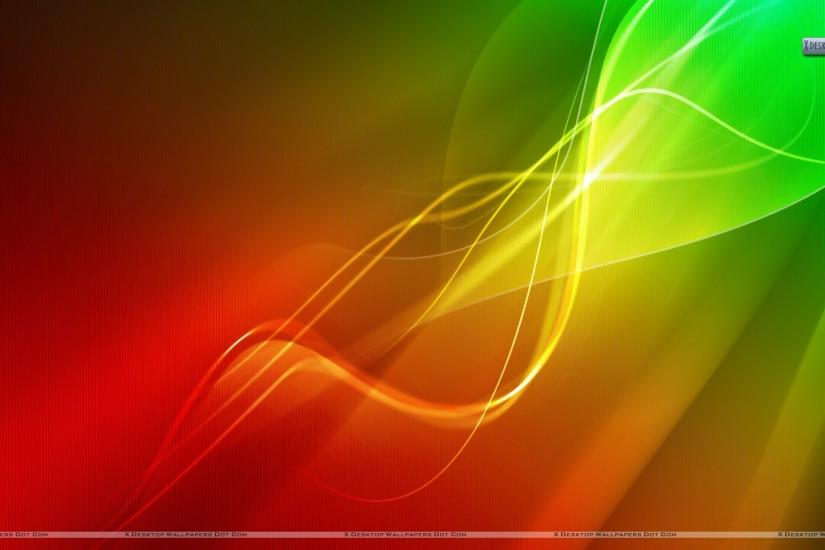 Red Abstract Backgrounds | Red Green Lights Abstract Wallpaper