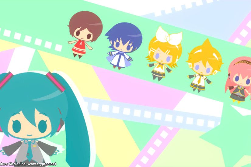 Pastel Chibi Vocaloid [Project Diva F Loading Screen]