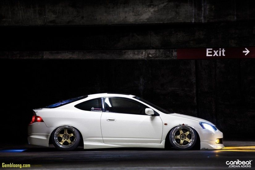 wallpaper wednesday jerald yutadco s bagged acura rsx canibeat