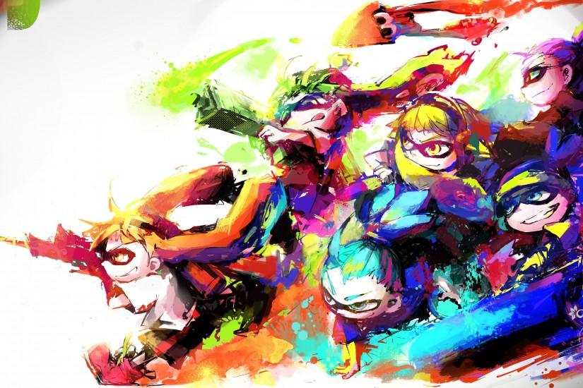 new splatoon wallpaper 3100x1700 htc