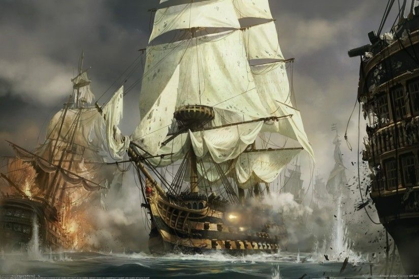 pirate ship wallpaper #51193