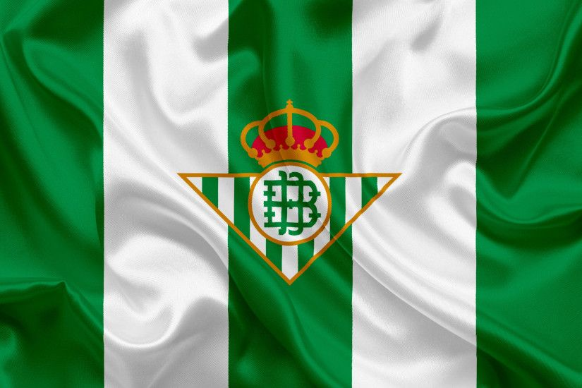 Real Betis, football club, emblem, logo, La Liga, Sevilla, Spain