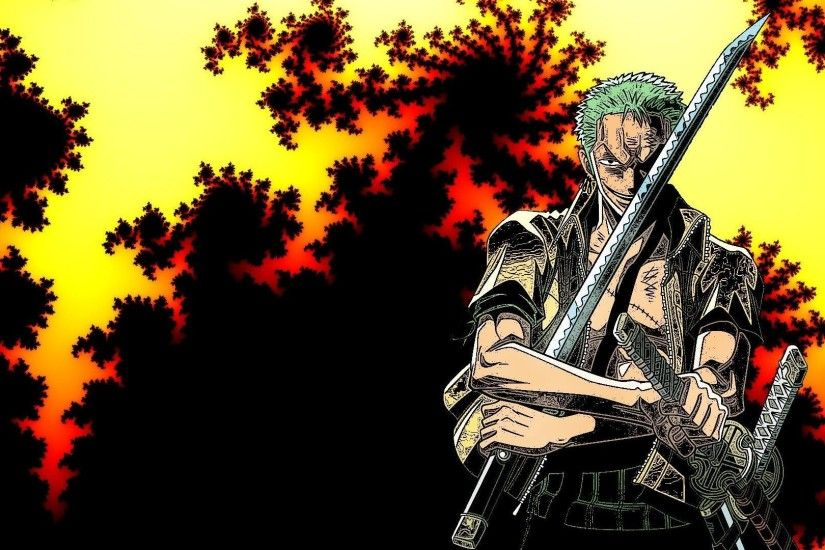 Roronoa Zoro - One Piece HD Wallpaper 1920x1080 Roronoa ...