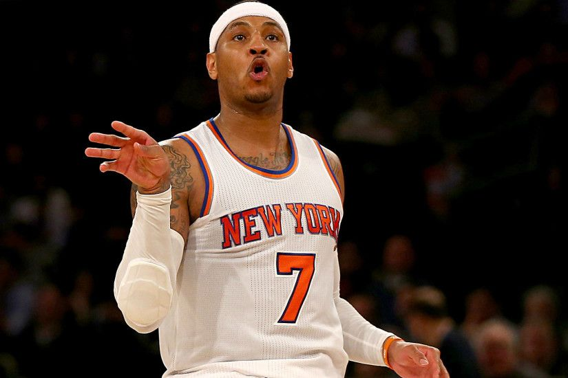 Carmelo Anthony gets into it with fan as Knicks drop another game | NBA |  Sporting News