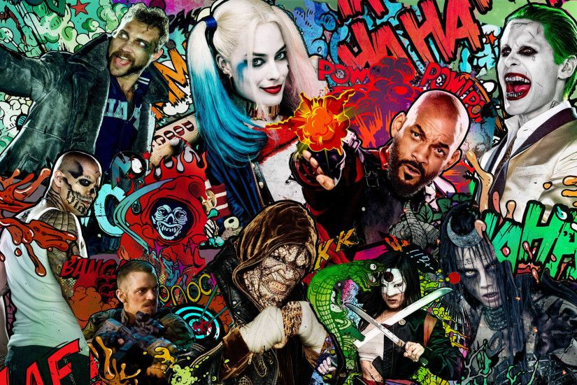Artistic Movie Suicide Squad · HD Wallpaper | Background ID:724434