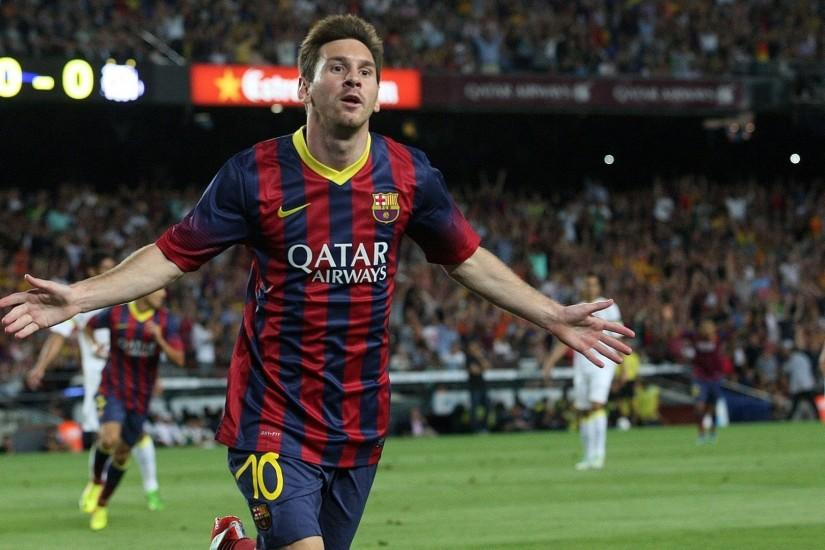Lionel Messi hd Wallpaper 2014 WideScreen - Wallpapers Mela