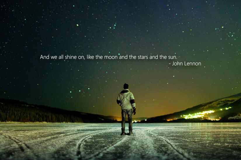 John Lennon Quote Life HD Picture Wallpaper