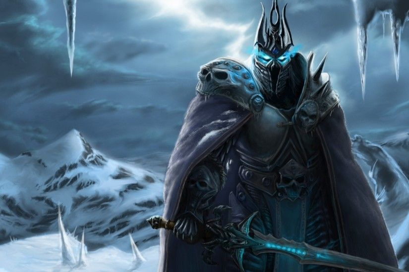desktop wallpaper for world of warcraft rise of the lich king