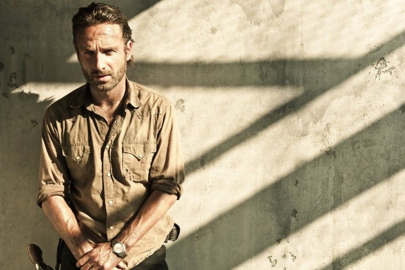 Preview wallpaper the walking dead, rick grimes, andrew lincoln 1920x1080