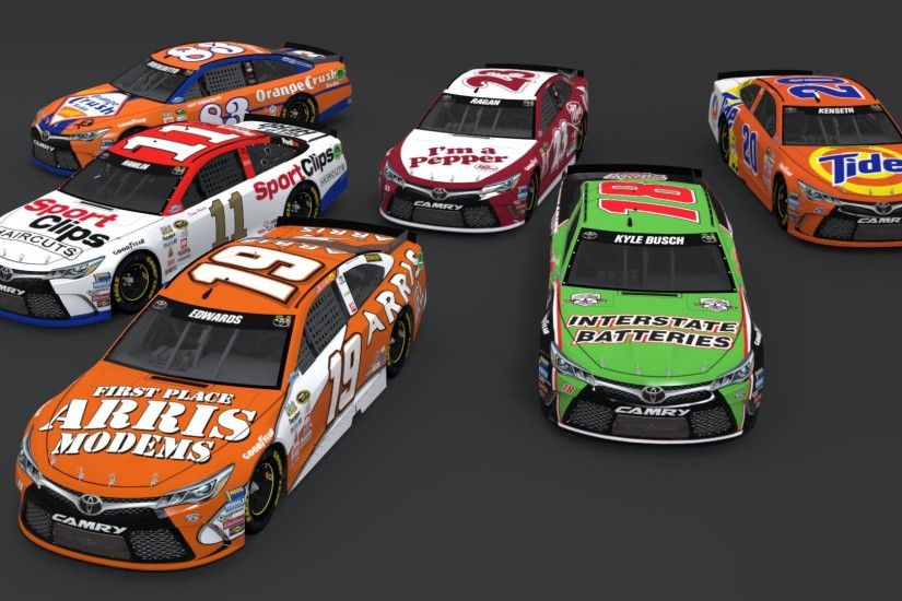 Darlington Toyota Throwback Paint Scheme Pack 1