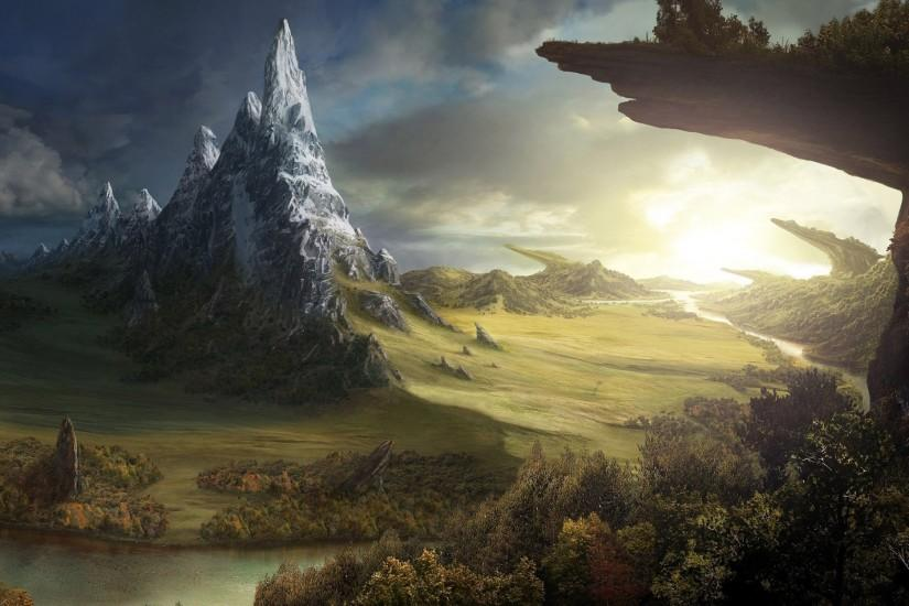 free download fantasy backgrounds 2560x1600 download free