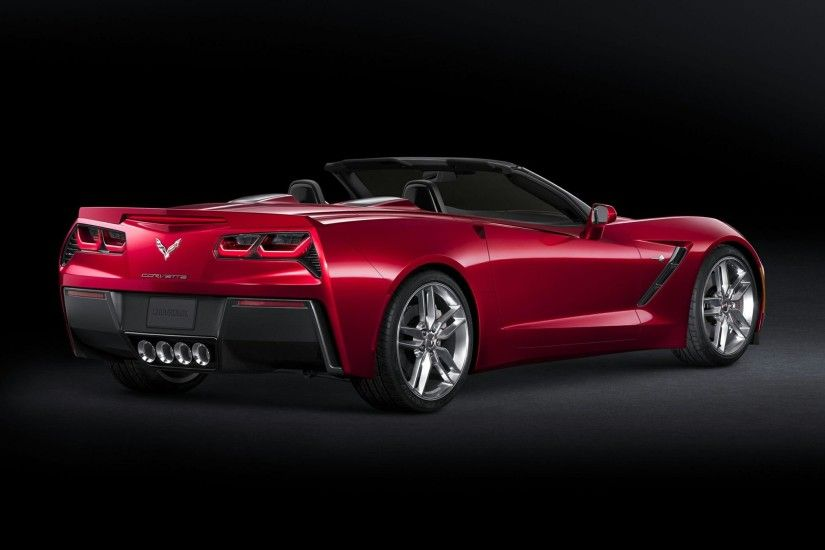 RED CHEVROLET CORVETTE WALLPAPER HD