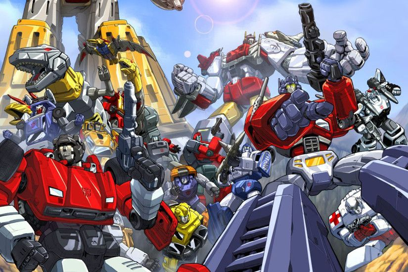 Transformers -Autobots by Pat Lee