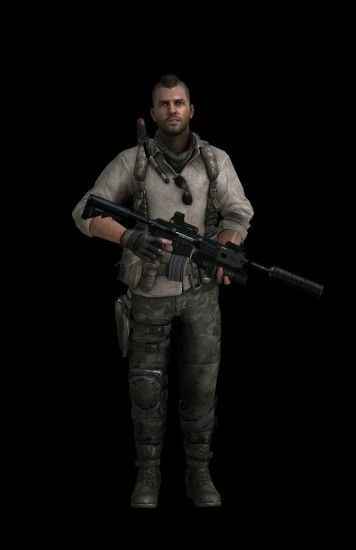 Soap Mactavish Call of Duty