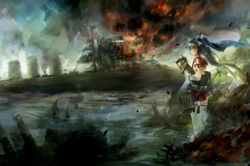 kantai collection blood Wallpaper HD