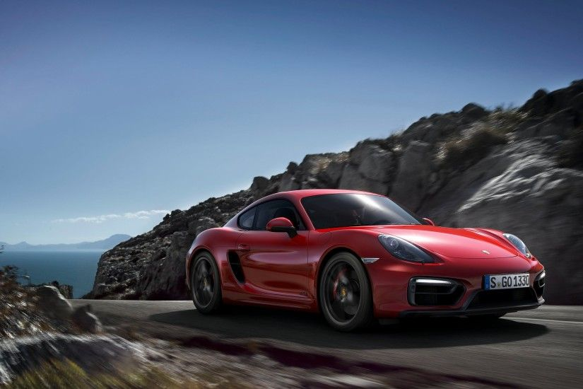 Porsche Cayman GTS Wallpaper