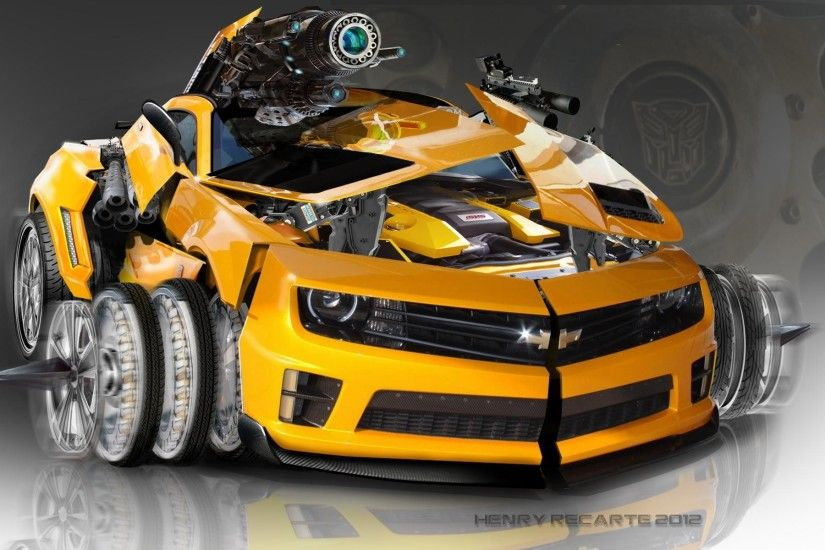 bumble bee transformers car hd