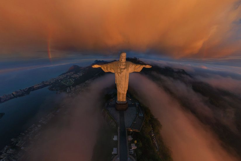 Download Photography Rio De Janeiro Christ Wallpaper Full Size