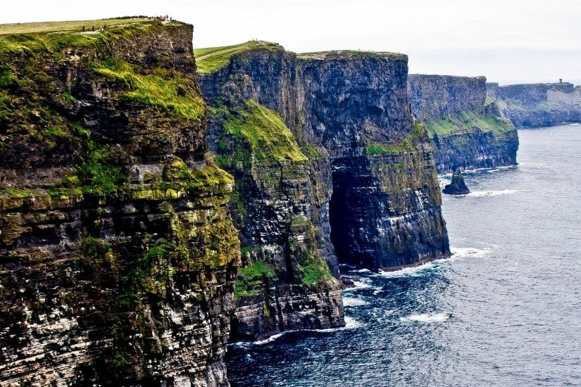 Ireland Landscape Cliffs Cliffs Ireland Cliffs of