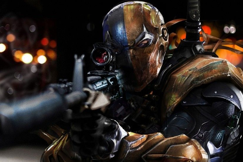 Download Wallpaper · arkhamdeathstrokegames