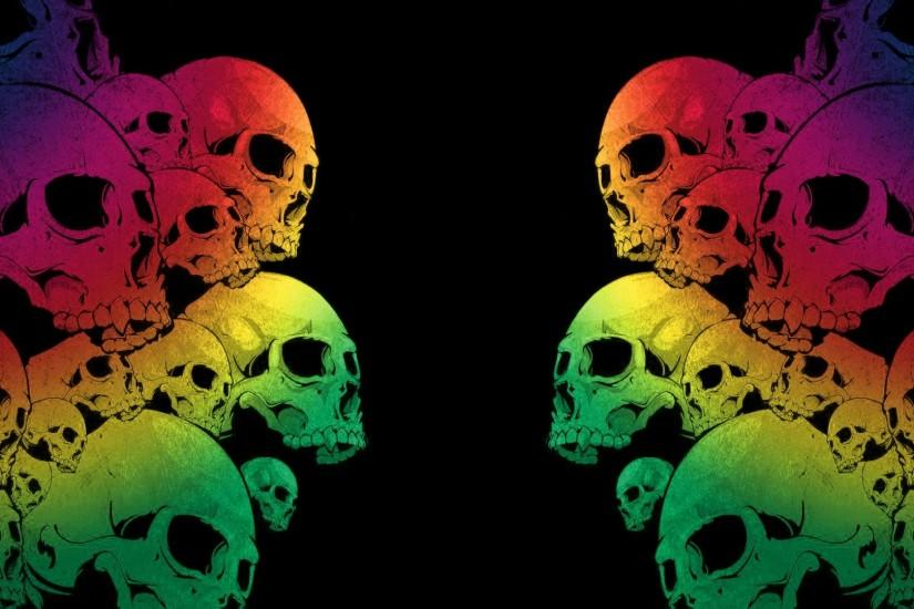 skull backgrounds 1920x1080 for 4k