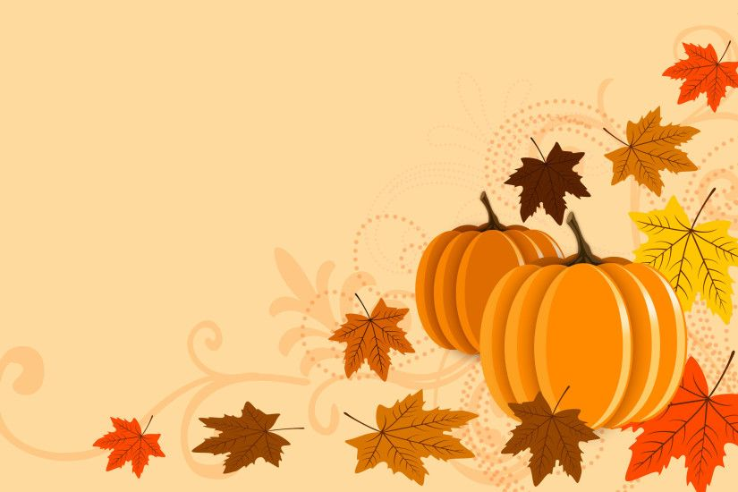 Pumpkins and leaves wallpaper - 1009263