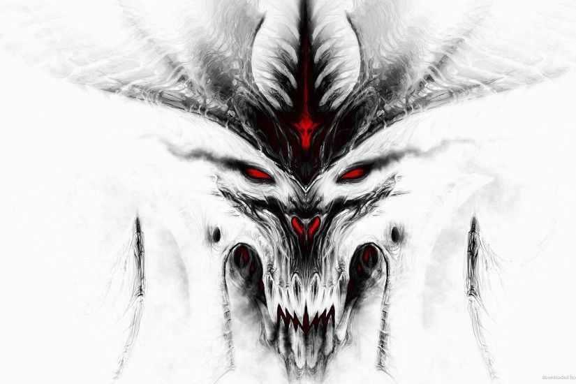 Diablo 3 White for 1920x1080