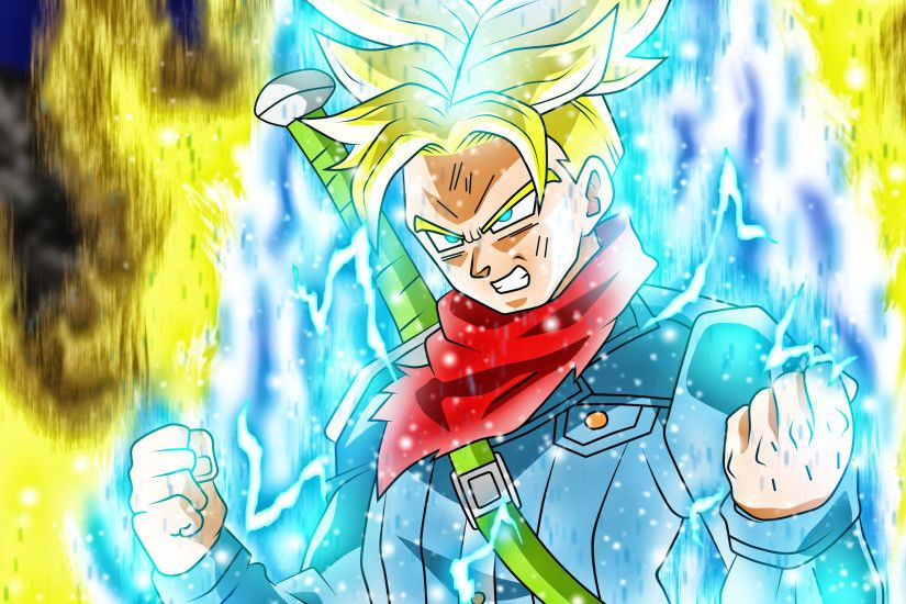 Future Trunks New Form by rmehedi on DeviantArt