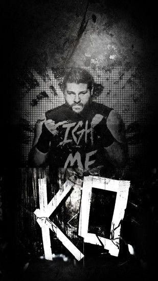 Kevin Owens iPhone wallpaper I put together quickly ...