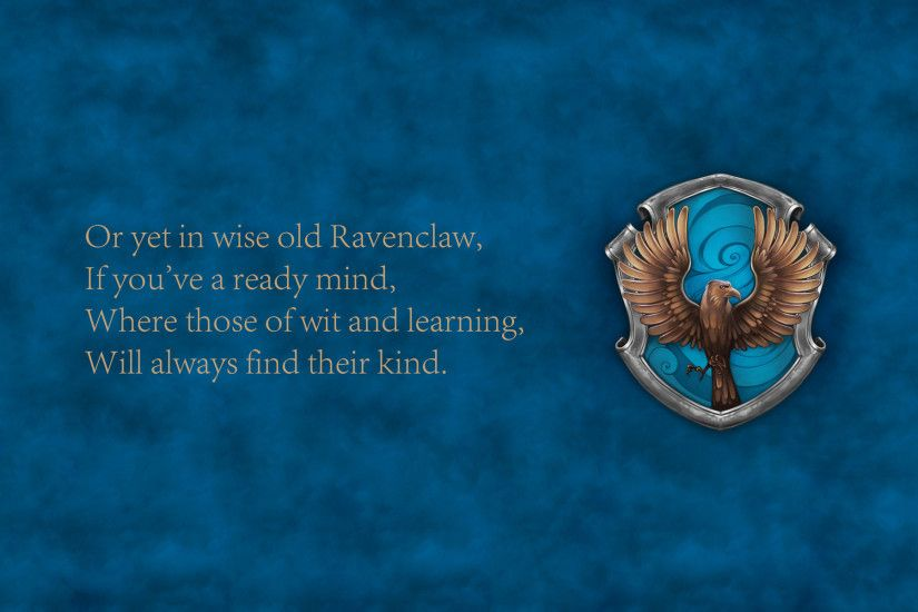 Ravenclaw - Harry Potter Wallpaper #44943