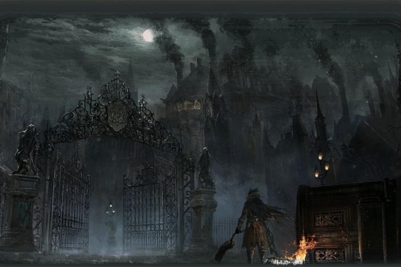 bloodborne wallpaper 3000x1697 for tablet