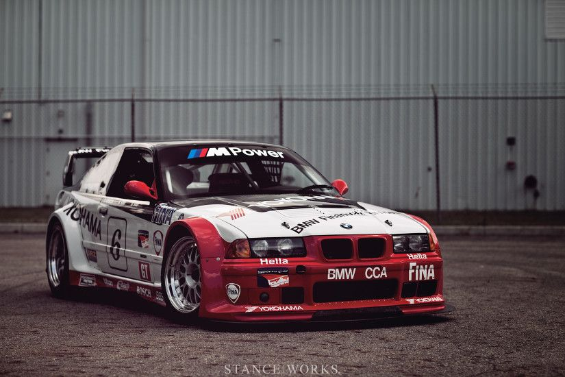 StanceWorks Wallpaper – The BMW PTG E36 M3