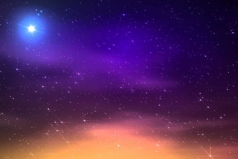 Video Background HD - Moon - Midnight - Star - Sky HD - Style Proshow -  YouTube