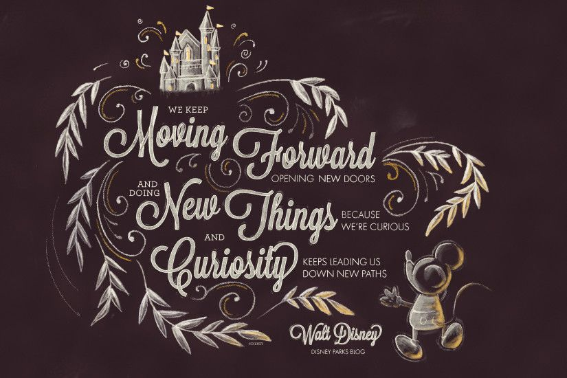 Exclusive: Walt Disney Desktop/Mobile Wallpaper