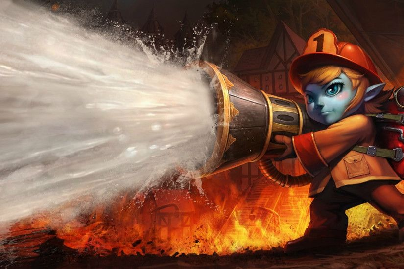 Firefighter Tristana Chinese