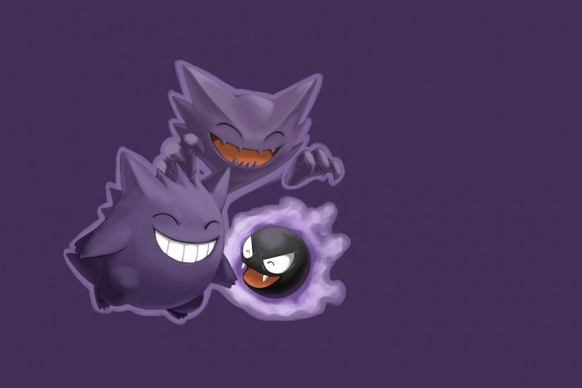 free gengar wallpaper 1920x1080