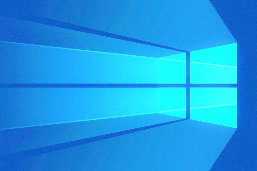 Blue Windows 10 Logo Wallpaper