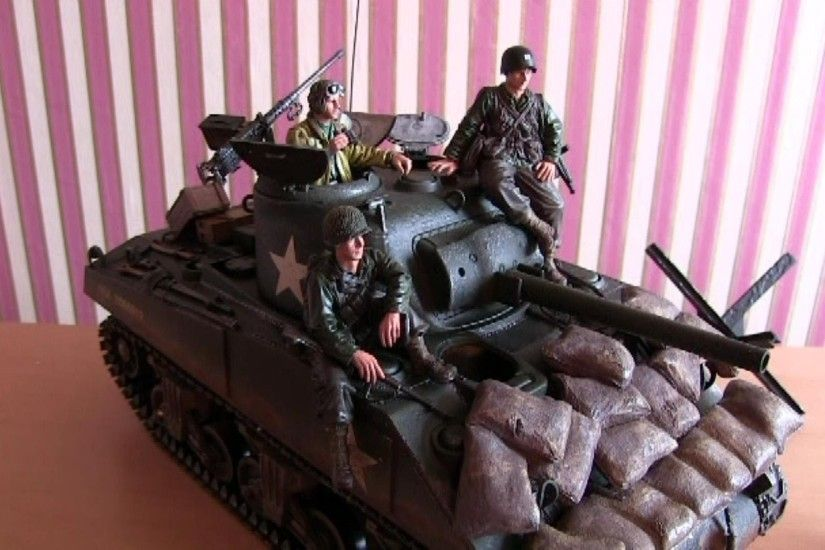 Project Man Cave Part 5 - Forces of Valor 1:16 Scale M4A3 Sherman - YouTube